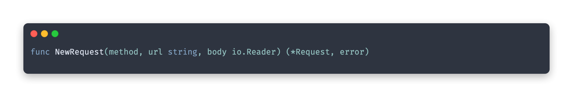 request function
